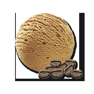 Eiskaffee mit Mokkastückchen