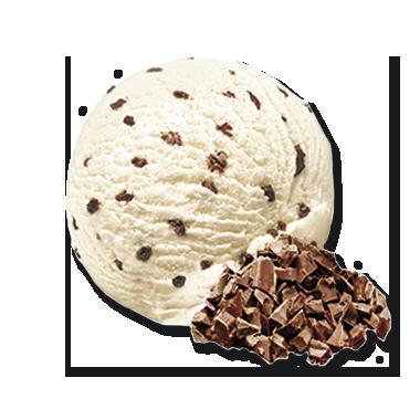 Stracciatella con scaglie di cioccolato