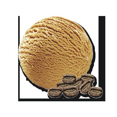 Eiskaffee ohne Stückchen
