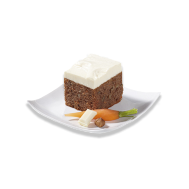 Charming Carrot Cube Cake
