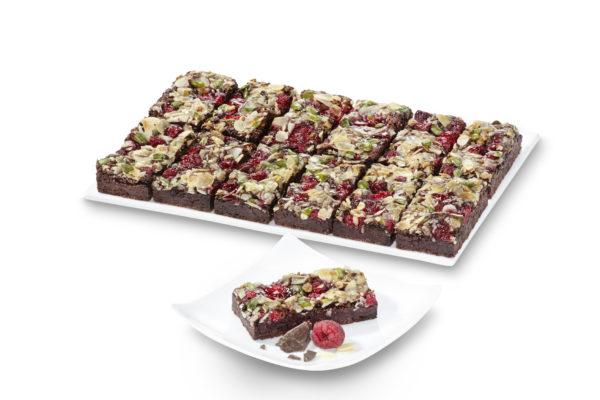 Himbeer Brownie