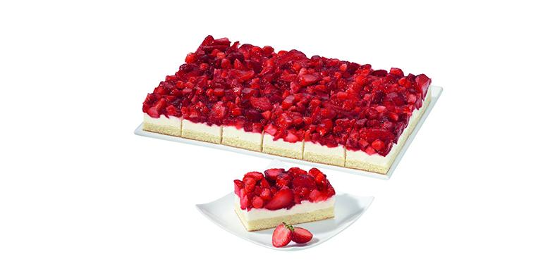 Erdbeer Jogurt Sahne Schnitte